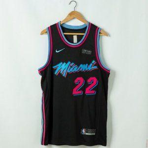 men Miami Heat Jimmy Butler Black #22 Jersey